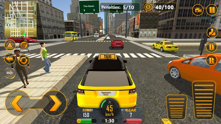 NYC Fastlane Taxi Driver screenshot-3