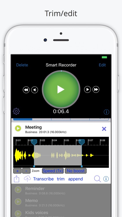 Smart Recorder and Transcriber - All Features screenshot-3