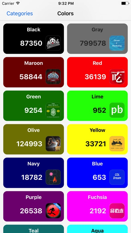 Colors - Apps Icons Downloads
