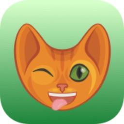 GingerMoji - Ginger Tabby Cat Emoji & Stickers