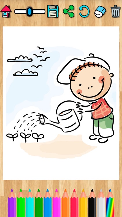 Coloring pages for kids  Painting activity book screenshot-4
