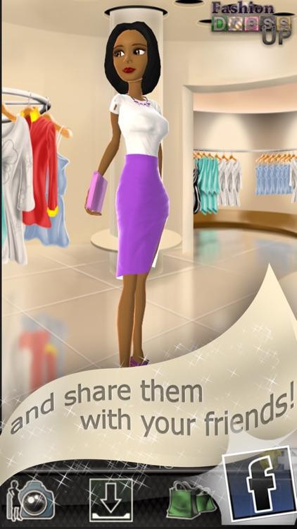 Fashion Dress Up - 3D Games for Girls screenshot-4