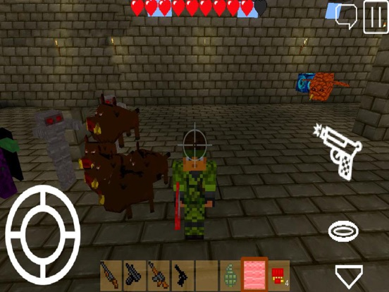 Игра Pixel Block Gun 3D