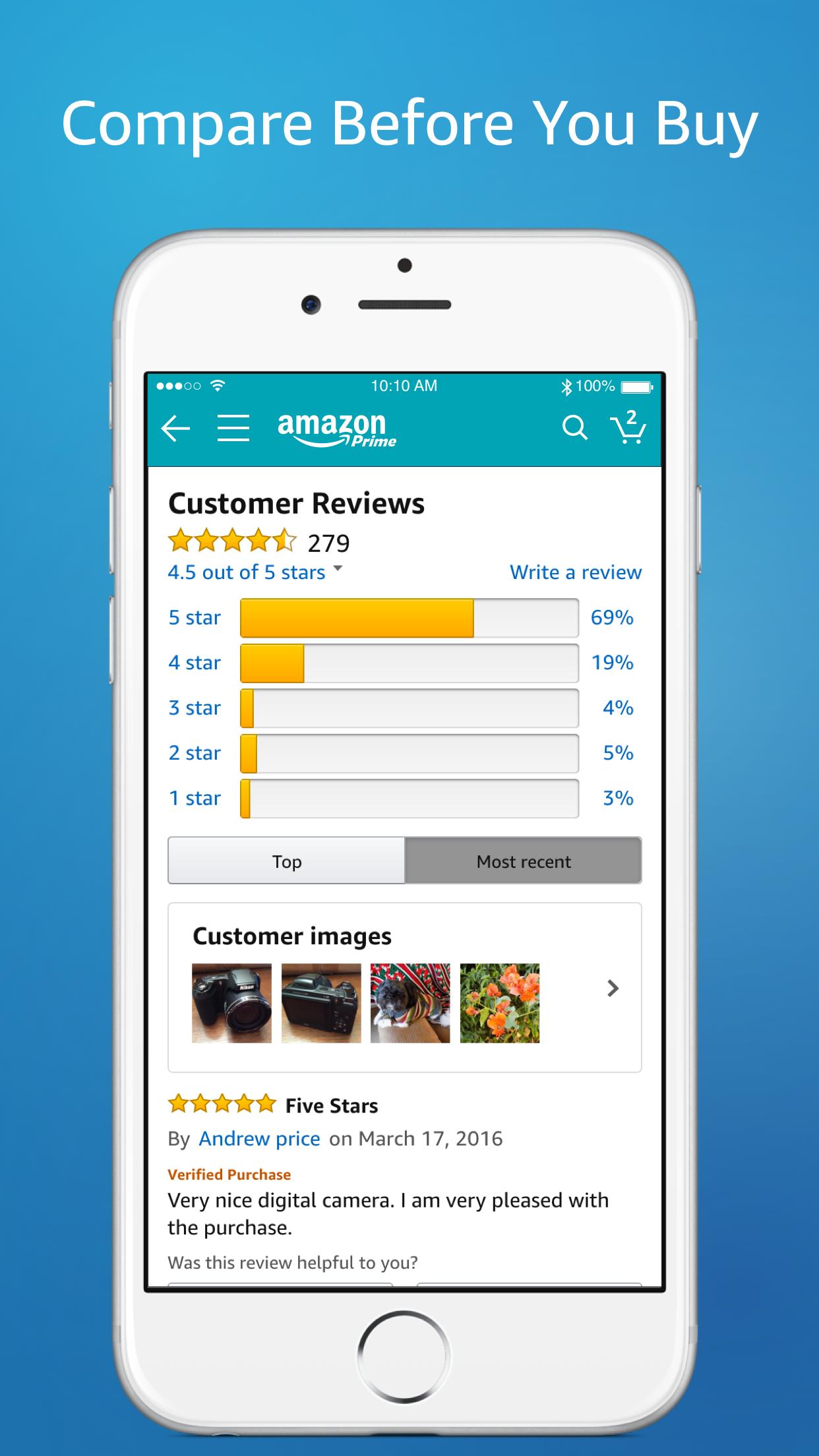 Amazon – Shopping made easy Screenshot