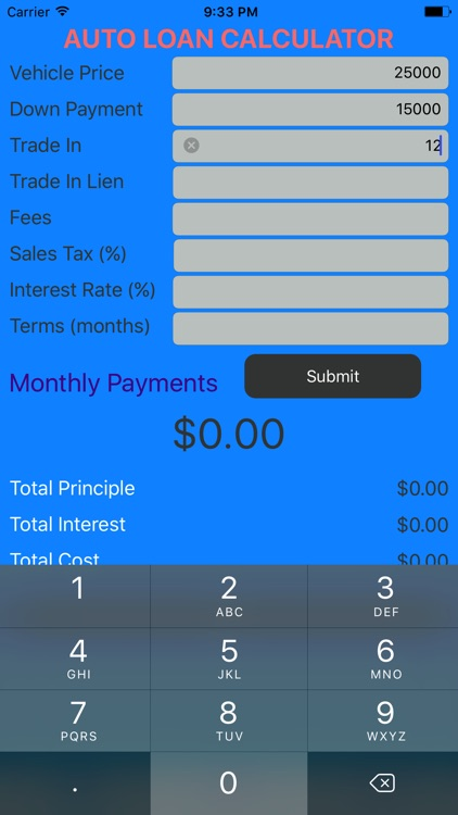 take the stress out of your loan with these easy to use calculators rh appadvice com average interest rate on a car loan with no credit average interest rate on a car loan 2018