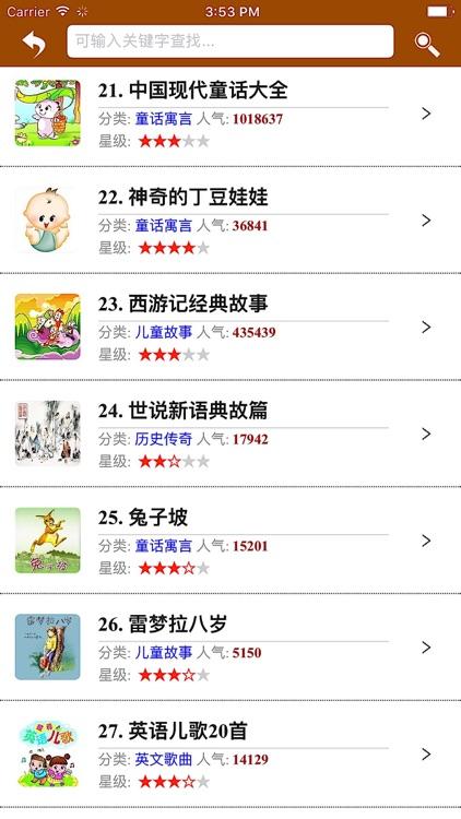 幼儿必听故事 - 必听儿童故事大全(VIP版) screenshot-4