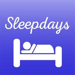 睡眠を快適に Sleepdays App:毎日の睡眠アドバイス、簡単睡眠記録、朝の快適アラームアプリ