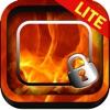 Frame Maker Fire & Flame Wallpaper Screen