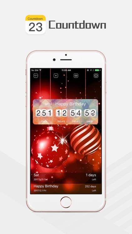 Countdown App - Birthday & Event Countdown