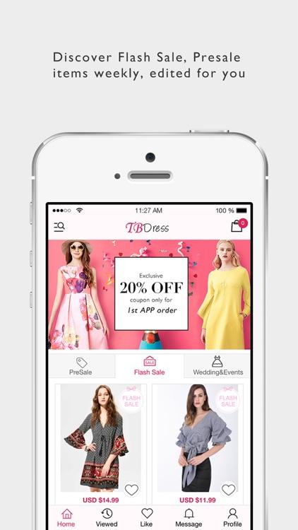 TBDress Shopping - Fashion Clothing & Shoes