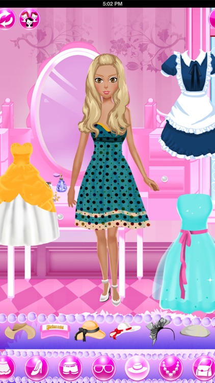 Dress Up Games: Beauty Salon screenshot-4