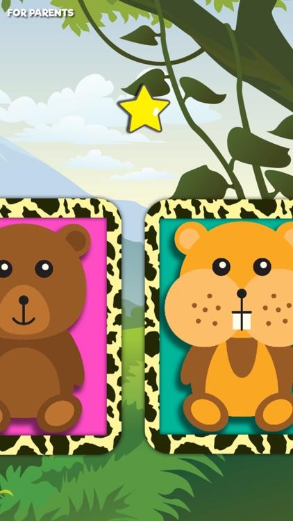 Giraffe Coloring Cute Wild Animals fun doodling screenshot-4