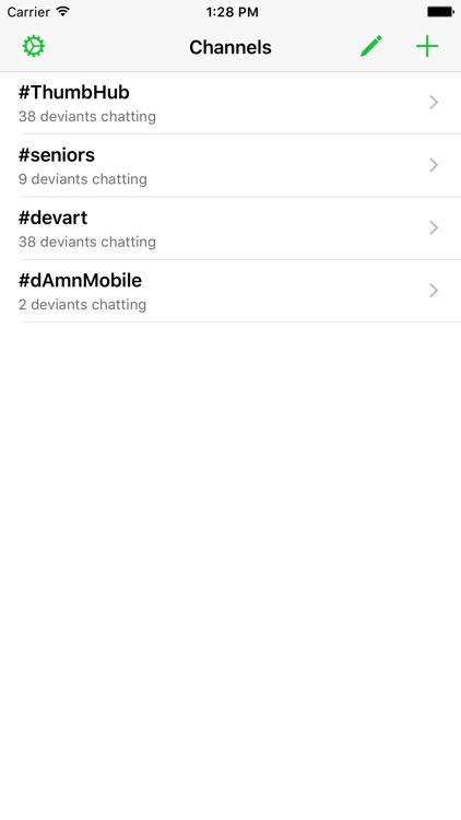 dAmnMobile for DeviantArt