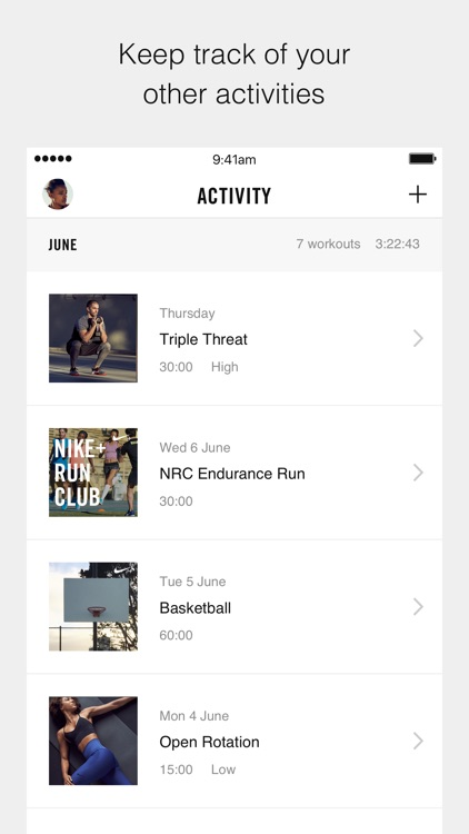 Nike+ Training Club –Workouts & Fitness Plans screenshot-4