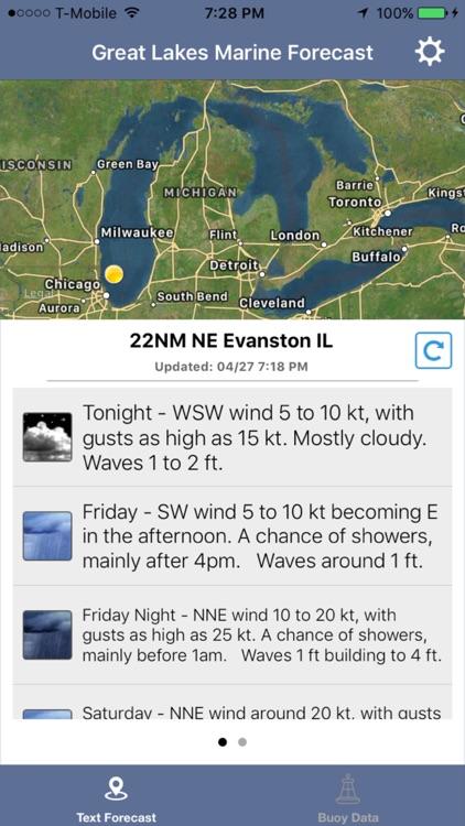 Great Lakes Boating - NOAA Marine Weather Forecast