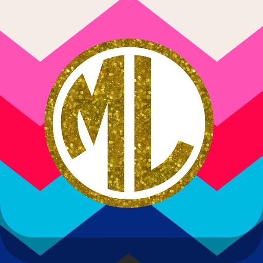 Monogram Lite - Wallpaper & Backgrounds Maker It