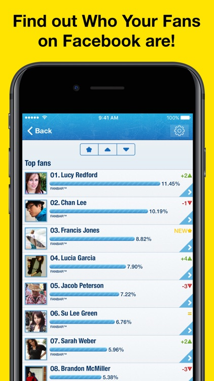 MyTopFans Pro - Track your profile followers
