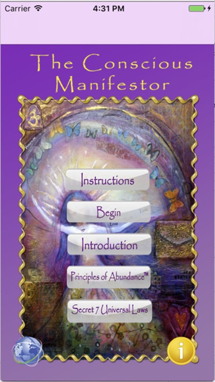 The Conscious Manifestor App screenshot-0
