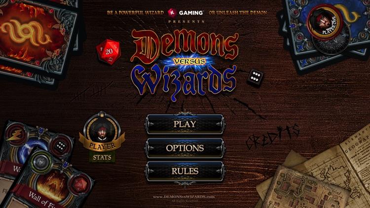 Demons vs. Wizards