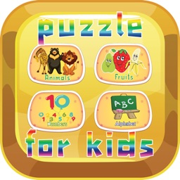 Puzzles learning for kids and toddler