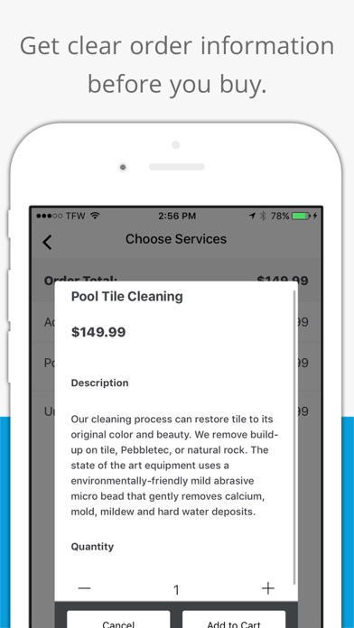 Titan Pools app image