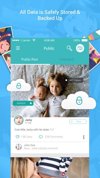 First Smile – Pregnancy & Baby Photo Album Apps screenshot-4