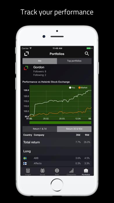 Stonder - Stock Market Tender screenshot four
