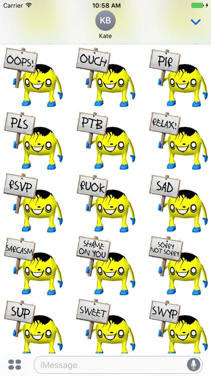 Monstrilio Stickers