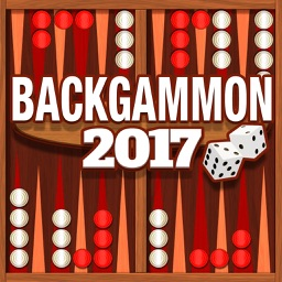 Backgammon Classic Board Game