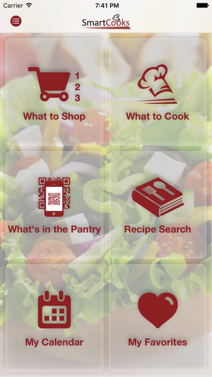 SmartCooks Meal Planning screenshot-0