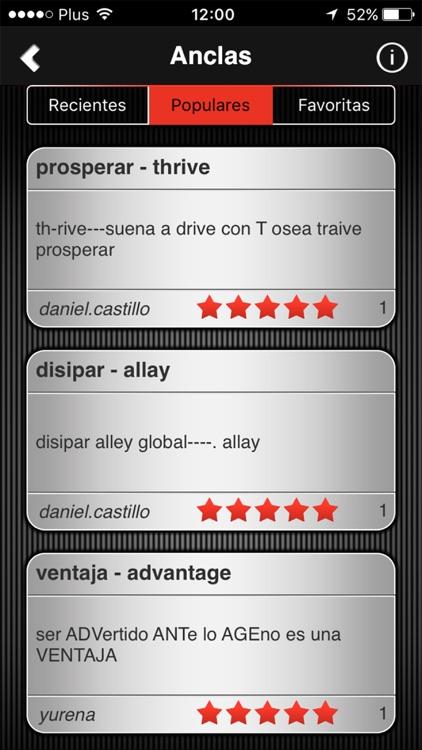 Speeq Spanish   English screenshot-4