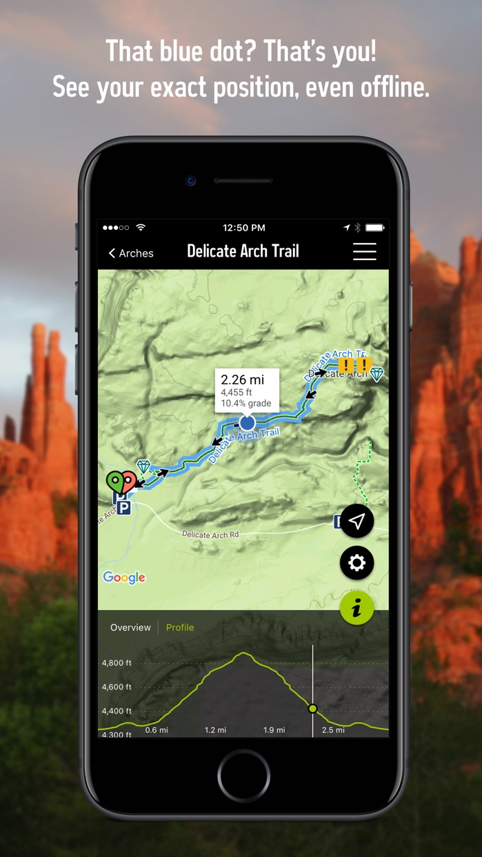REI Co-op Guide to National Parks Screenshot