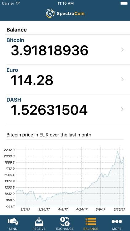Bitcoin Wallet by SpectroCoin