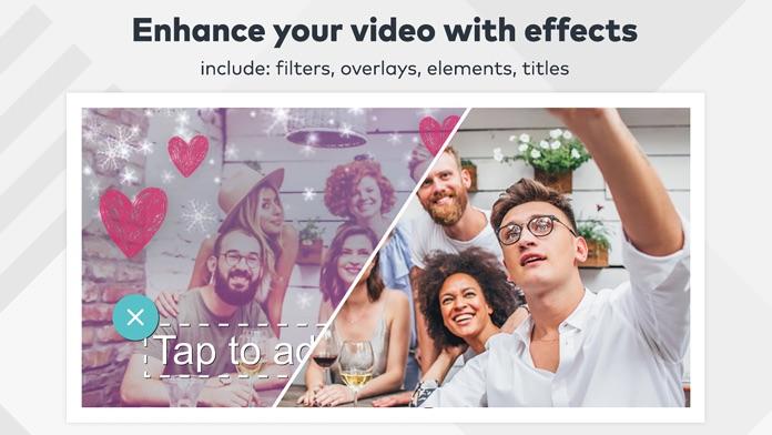 FilmoraGo-Video Editor of photo,movie editing Screenshot