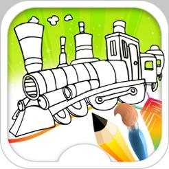 Tren Oyunları Tren Boyama Oyunu App Storeda