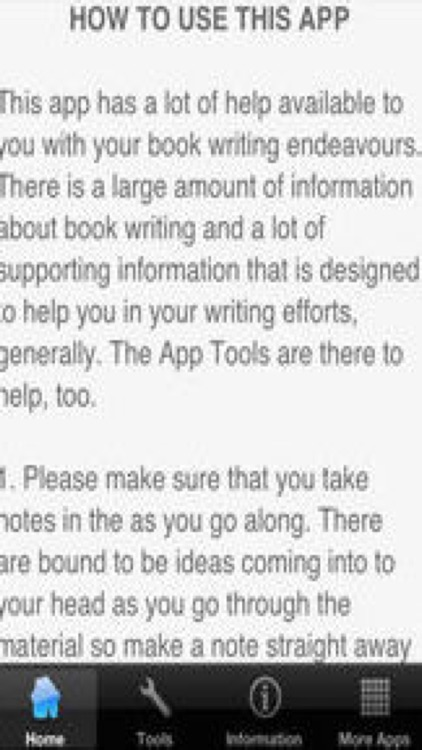 How To Write a Book screenshot-3