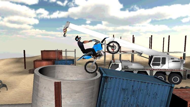 Dirt Motor-Bike Game: Stunt Challenge screenshot-3