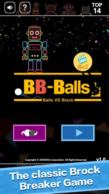 BB Balls-Bricks Breaker game screenshot-4