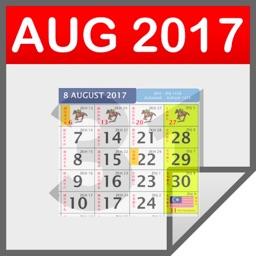 Malaysia Calendar 2017, Public Holidays & Tasks
