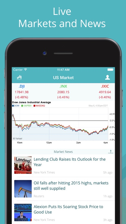GoFinance for Google Finance: Tracker & Screener screenshot-4