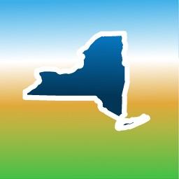 Aqua Map New York NY Lakes - GPS Nautical Charts