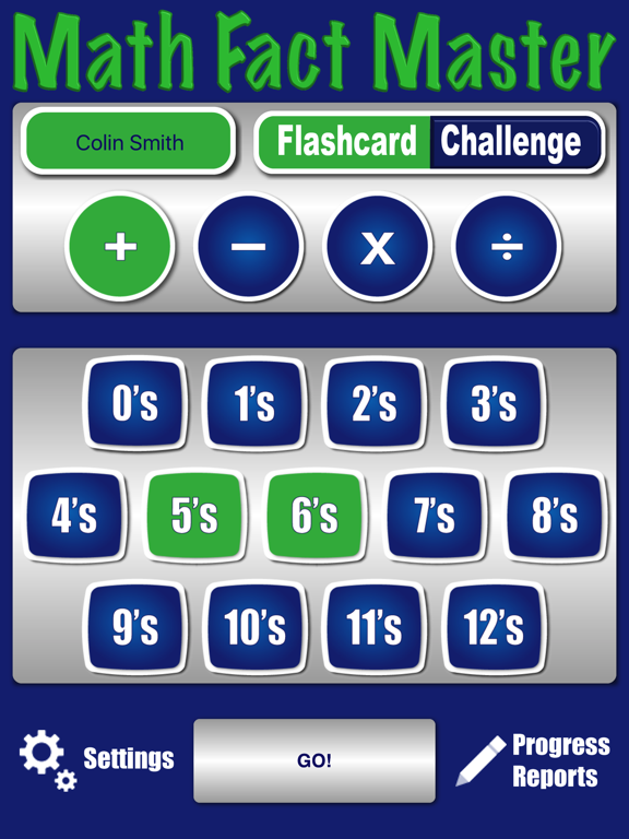 Math Fact Master: Addition, Subtraction, Multiplication, and Division screenshot