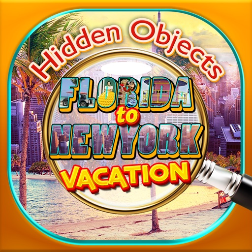Hidden Objects Florida to New York Vacation Time