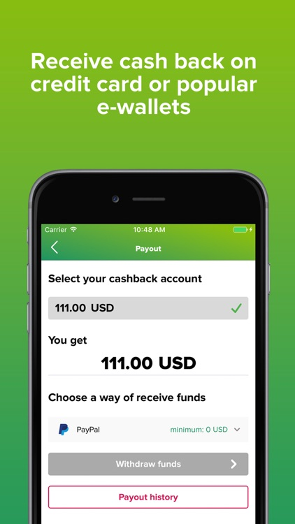 Smarty.Sale - cash back