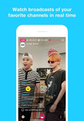 V LIVE - Broadcasting App screenshot 2