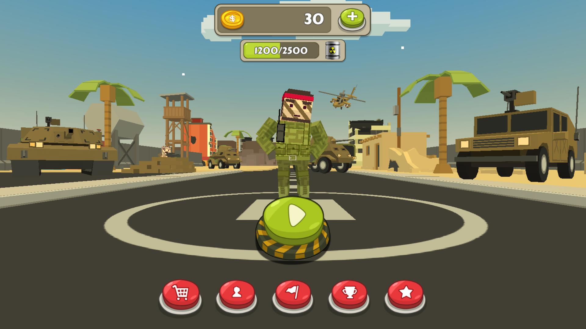Backstorm Attack - Endless RPG War Runner screenshot 11