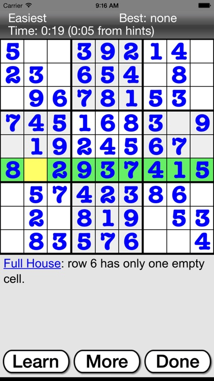 :) Sudoku screenshot-2