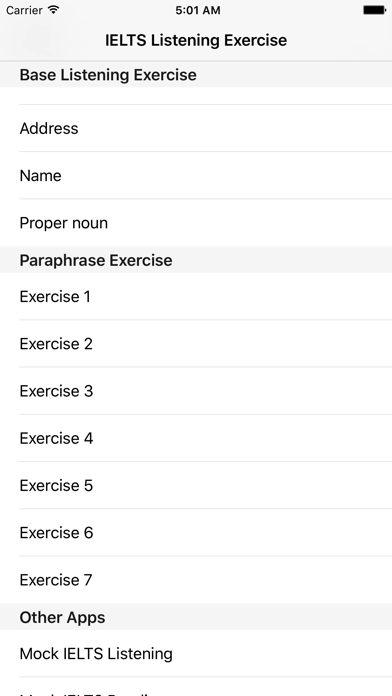 IELTS Listening Exercise - Paraphrasing