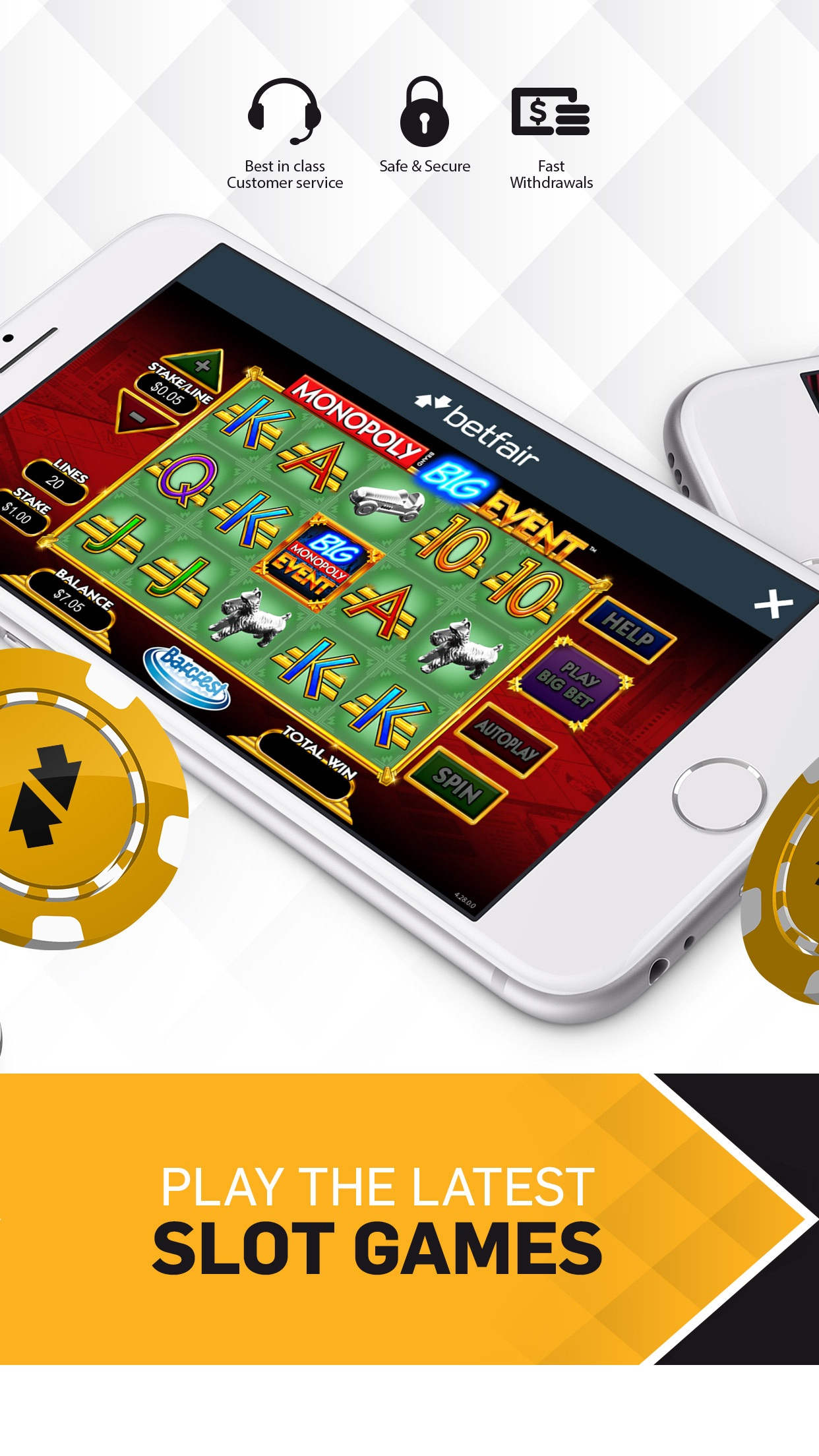 Betfair Casino NJ - Real Money Screenshot