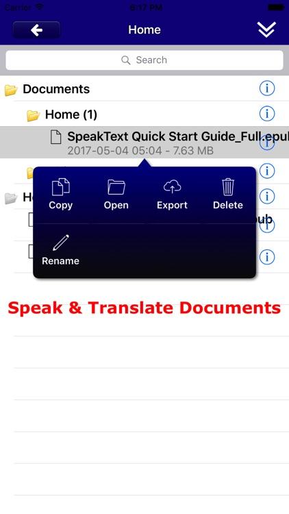 SpeakText (Speak & Translate)